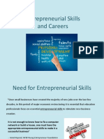 Entrepreneurship Careers Pp t