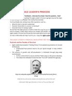 Agile Leader's Process