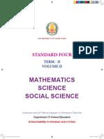 4th Maths Science Social Term2 EM Governmentexams.co.In