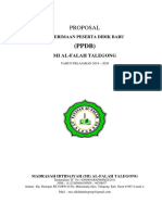 Proposal PPDB 2019-2020 MI Al-Falah