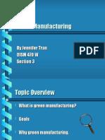 Green Manufacturing 2