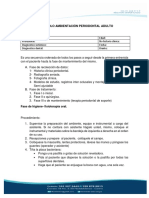Protocolo Periodontal Adulto