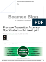 Pressure Transmitter Accuracy Specifications – the Small Print_BEAMEX