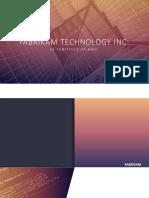 Fabrikam Technology Inc