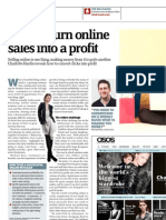 How to turn online sales into a profit