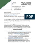 CIMT 301 & CIMT 302 Syllabus Fall 2019 (1)