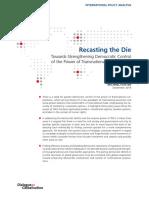 Recasting the Die