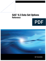 SAS Dataset options.