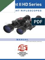 X Sight2 HD Manual