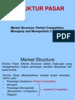 ISIP4112 ILMU PENGANTAR EKONOMI INISIASI 5 Struktur Pasar.ppt