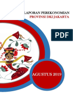 Laporan Perekonomian Provinsi DKI Jakarta Agustus 2019
