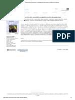 Introducción a La Economía y Administración de Empresas _ Ediciones Pirámide
