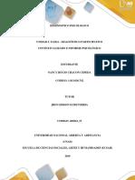 Unidad 3 Fase 4 - Diagnóstico Participativo Contextualizado e Informe Psicológico