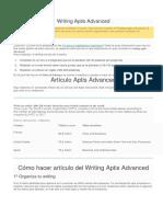 Writing Aptis Advanced-Article