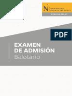 A3 Balotario
