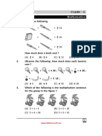 Class 3 NSTSE Sample Paper