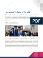 4 Reasons to Study in the USA