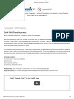 Soft Skill Development - Course