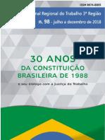 Revista 98 Tribunal Regional do Trabalho da 3ª Região