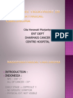 Palliative Treatment In Nasopharyngeal Carcinoma