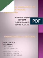 Palliative Treatment In Nasopharyngeal Carcinoma