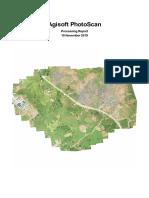 Agisoft Photoscan Project Report
