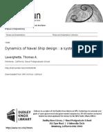 Dynamics of Navals