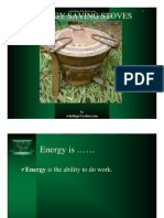 Energy Saving Stove Ochollage