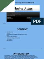 Amino Acids