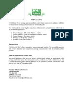 CRDB Bank Job Opportunities Internal Audit
