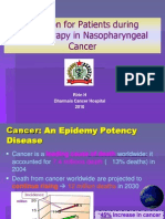 Nutrition for Patients during Radiotherapy in Nasopharyngeal Cancer