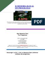 Acelerar Memoria Ram Al Maximo Sin Programas