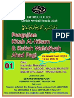 Al-Hikam _01 _Kuliah Wahidiyah Ahad Pagi