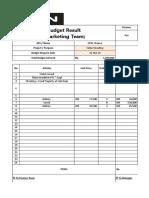 Contoh Finance Report Shooting
