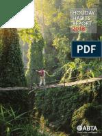 ABTA Travel Trends Report 2018