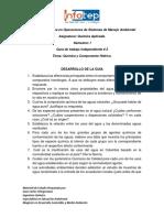 Guía # 2 -Química Ambiental.