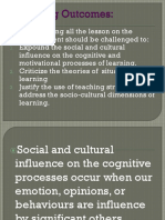 social cultural influence on the cognitive and motivational processes of learnin.pptx