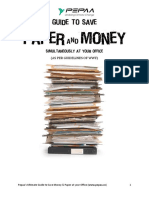 Pepaa's Ultimate Guide to Reduce Paper Waste at Your Office [eBook Draft]
