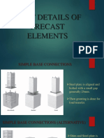 Joint Details of Precast Elements