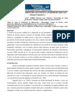Produção de Fermentado Alcoólico a Partir de Abacaxi