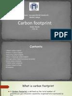 Carbon Footprint123