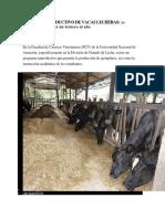 Manejo Reproductivo de Vacas Lecheras