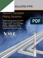 ACM Vacuum Jacketed Pipe Brochure