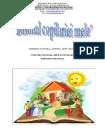 Basmul Copilariei 2019-2020 Concurs Si Simpozion Regional