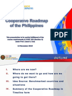 Cooperative Roadmap of the Philippines