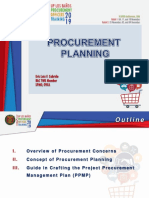 2. Procurement Planning