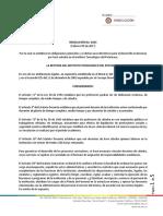 Resolucion Contrato General Catedra