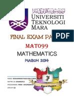 Musa Final MAT099 2014