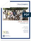 PW66 - Local Justice in Southern Sudan