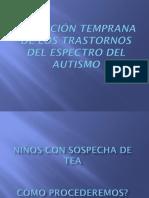 Detección temprana de trastornos del espectro autista
